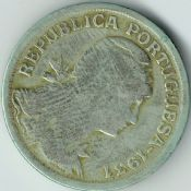 Portugal, 50 Centavos 1931 (Scarce Year), Fair, BCM72